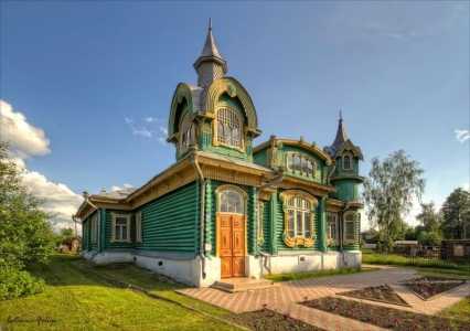 Wooden architecture of Gorokhovets (late 19th-early 20th centuries)