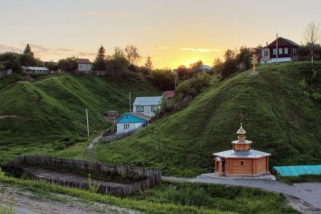 Karacharovo - the birthplace of Ilya Muromets
